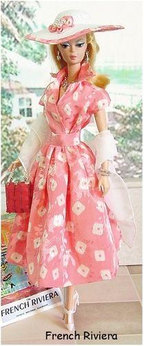 Fun In The Sun.Barbie in peach! Poupées Barbie Collector, Barbie Patterns, Barbie And Ken, Barbie Barbie, Barbie Dream, Vintage Barbie Dolls, Barbie Collection, Barbie World, Barbie Friends
