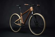 AnalogOne.One Wooden Bike by Grainworks
