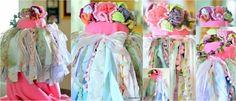 BOHO TUTU Shabby Chic Torn Fabric Skirt tutu Photography Party Wedding Rag Tie Boho Birthday Shower Baby (Made to order)