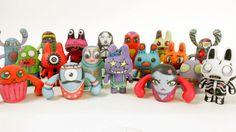 Monsters 3D Print Shapeways