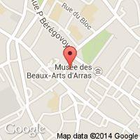 Carte pour 9, rue des Agaches 62000 Arras France