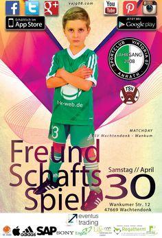 Wir sind am kommenden Samstag, den 30. April um 10 Uhr zu Gast bei TSV Wachtendonk-Wankum. Erfahre mehr über uns unter vajg08.com.