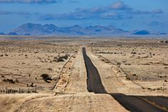 Ranch Road 2810 streaks through the Chihuahuan Desert into the town of Marfa, which sits between three mountain ranges. (Photos by J. Griffi...