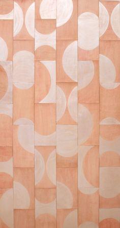 blush geo tiles