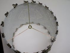 upholstery basics: how to make a lampshade – Design*Sponge Diy Drum Shade, Make A Lampshade, Lampshade Designs, Macrame Patterns, Lamp Shades, Upholstery, Diy Projects, How To Make, City Guides