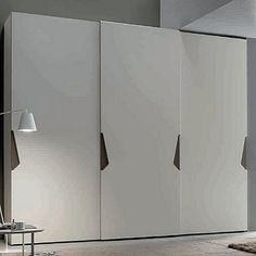 Amazing white 'Snakey' Wardrobe by Orme