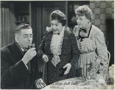 Arsenic and Old Lace. 1944. Edward Everett Horton (born 1886), as Mr. Witherspoon; Jean Adair (born 1873) as Martha Brewster; Josephine Hull (born 1877) (née Sherwood) as her sister, Abby Brewster. These two actresses had been playing their characters on stage. They received permission to be off for 8 weeks to make the film.  The movie was actually filmed in 8 weeks.