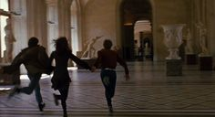 Sirius Black, Lily Evans, And James Potter running on the first day of their final year of Hogwarts. Taken by Remus Lupin Circa 1977 Story Inspiration, Character Inspiration, The Golden Trio, Jules Et Jim, Scorpius Rose, Heist Society, The Wombats, Good Vibe, The Secret History