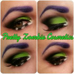 Beetlejuice Makeup (Pretty Zombie Cosmetics) by Pretty Zombie Cosmetics, via Flickr
