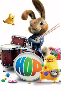Titel : Hop (2011) Vrijgegeven : 01 Apr 2011 Genre : Animation, Adventure, Comedy, Family, Fantasy Duur : 95 min Synopsis : E.B., the Easter Bunny's teenage son, heads to Hollywood, determined to become a drummer in a rock 'n' roll band. In LA, he's taken in by Fred after the out-of-work slacker hits E.B. with his car. #Hop2011 #HopOnline #HopFilmKijken #HopOnlineFilmKijken #HopFilmKijkenOnline #HopGratisOnlineFilmKijken Good Comedy Movies, Comedy Films, Funny Movies, 2011 Movies, Russell Brand, Kaley Cuoco, Online Gratis, Streaming Movies, Easter Bunny