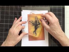 Lavinia Stamps and Stencil - with Distress Oxides - YouTube Lavinia Stamps Cards, Distress Oxides, Fairies, The Creator, Stencils, Greeting Cards, Tutorials, Crafty, Youtube