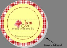 How to make printable tags with free printable labels to organize your home beautifully. These free printable label templates include blank labels, printable labels for kids, round and oval labels in many different colors and patterns. Kids Labels, Food Labels, Printable Labels, Free Printables, Mason Jar Meals, Meals In A Jar, Mason Jars, Canning Jar Labels, Jam Label
