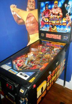 RARE DATA EAST 1994 WWF ROYAL RUMBLE WRESTLING PINBALL MACHINE ARCADE GAME #DataEast