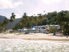 Maracas Bay Hotel seen from the beach side