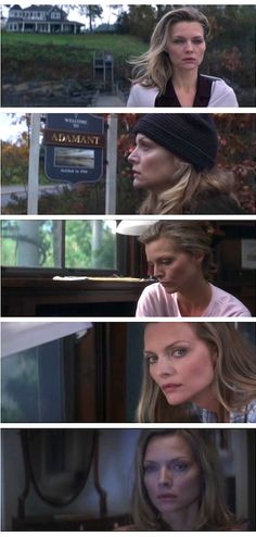 Michelle Pfeiffer as Claire Spencer in WHAT LIES BENEATH.