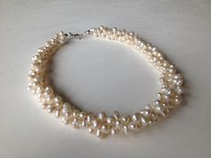 Necklace freshwater pearls ~ handmade jewelry by Sonja  ∽ SonjadeBruin.com