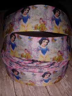 Snow White Grosgrain Ribbon by ILoveYouMoreCreation on Etsy