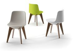 Sedia in polietilene PLANET CHAIR Collezione Planet by PLUST Collection by Euro 3 Plast   design Cédric Ragot