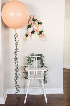 Baby floral garden party