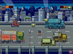 Title:Bike Assault In-game Screenshot Pixel Artist:albertov