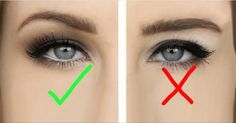 Make Up - Hooded eyes makeup hacks, tips, tricks for people with hooded eyelids; Asian Eye Makeup, Eye Makeup Tips, Makeup Tricks, Smokey Eye Makeup, Makeup Tools, Makeup Brushes, Smoky Eye, Hair Makeup, Makeup Ideas