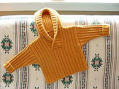 Ravelry: Cable and Rib Sweater with Hood pattern by Debbie Bliss