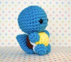 Squirtle Pokemon amigurumi by JennyDork on Etsy, $15.00