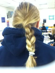 I did my friends hair today!!! ^^