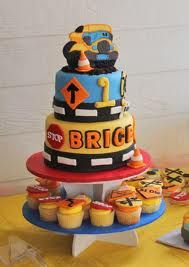 construction 1st birthday cupcakes - Google Search