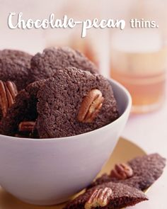 Make parties a cakewalk with these tasty and shareable pecan chocolate cookies! This cookie recipe is sure to be a hit at any office party.