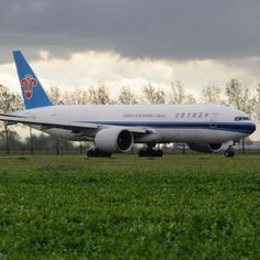 China Southern Airlines Cargo B777F freighter at Schiphol - by aviationspotter_ams
