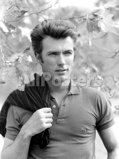 Clint Eastwood, 1961 People Photo - 30 x 41 cm