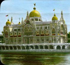 Le pavillon de l'Italie à l'exposition universelle de Paris en 1900 - Exposition universelle de 1900 — Wikipédia