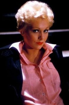 Kim Novak during production of 'The Man with the Golden Arm (1955)