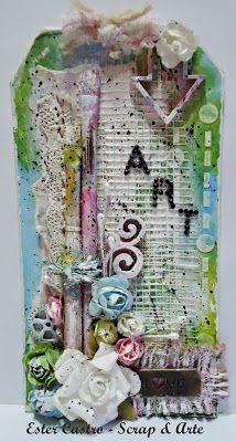 "Scrap & Arte Tag ""Art"""