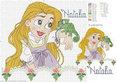 Graficos de Princesas em ponto cruz! - VilaClub