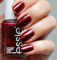 Afbeeldingsresultaat voor chique nails bordeaux glitter