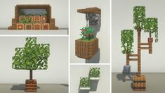 Cute Minecraft Houses, Minecraft Garden, Minecraft Plans, Minecraft Room, Amazing Minecraft, Minecraft House Designs, Minecraft Tutorial, Minecraft Blueprints, Minecraft Creations