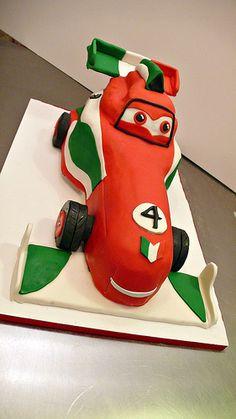 Disney Cars Two Birthday Cake