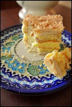 No Bake Desserts, Delicious Desserts, Different Cakes, Polish Recipes, Polish Food, Sweets Cake, Food To Make, Cake Recipes, Good Food