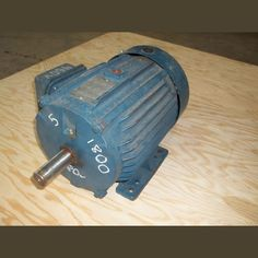 230/460V. 1,750 rpm.  3 phase.   Frame: 215T. 13/6.5A. Continuous duty.     Please contact us for more information.  View our full inventory of 5 HP AC Motors