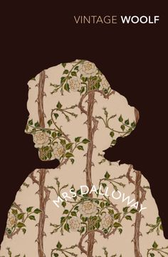 Cover illustration for Virginia Woolf's Mrs Dalloway.