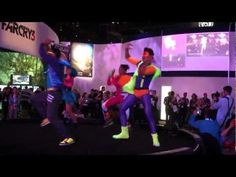 E3 2012 Just Dance 4: Maroon 5 - Moves Like Jagger Gameplay