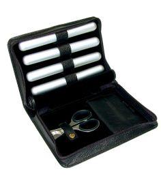 Cigar Case with Scissors