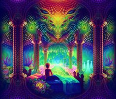 Cool trippy pictures that takes your mind on a LSD trip. Dope collection of weird trippy pictures to look at when your HIGH. When Drugs Meet Art. Fantasy Kunst, Fantasy Art, Lsd Art, Trippy Pictures, Art Visionnaire, Psychadelic Art, Yoga Studio Design, Mystique, Purple Aesthetic
