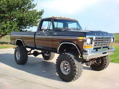 1978 Ford F250 Monster Truck 4×4