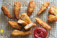 Fried Chicken Tenders Strips Nuggets Recipe Panko — Chicken Recipe Box