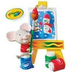 2010 CRAYOLA - A CHEERY MASTERPIECE Hallmark Ornament Mint in Box | The Ornament Shop