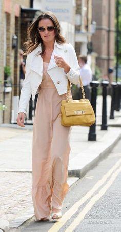 Style exemplary British fashionista Pippa Middleton:Moda Gid waysify