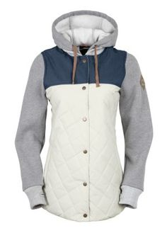 686 Womens Snowboard Jacket Parklan Autumn Insulated